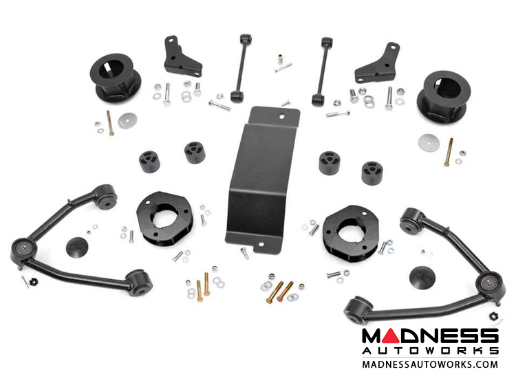"Chevy Suburban 1500 4WD Suspension Lift Kit - 3.5"" Lift - Steel"